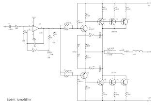 RANGKAIAN POWER: Rangkaian Amplifier Spirit