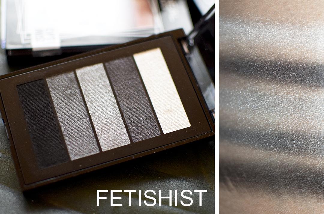 L'Oréal Paris La Petite Palette, Fetishist Swatches und Pigmentierung