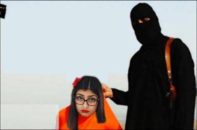 Bintang Bokep Mia Khalifah diancam ISIS