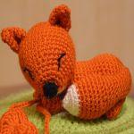 patron gratis zorro amigurumi   free amigurumi pattern fox