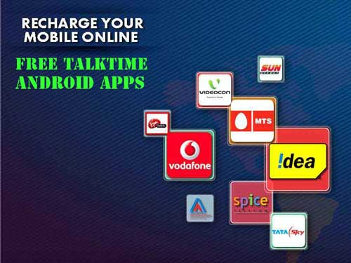 earn free mobile recharges