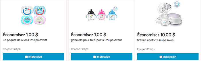 Coupons avent
