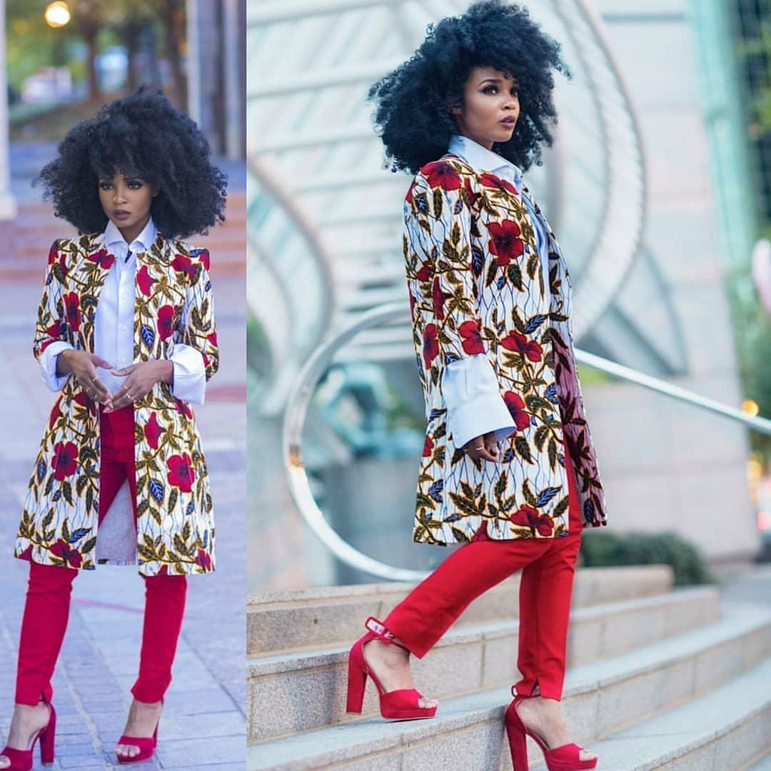 Ankara Jacket Styles 2018 For African Queen Dezango
