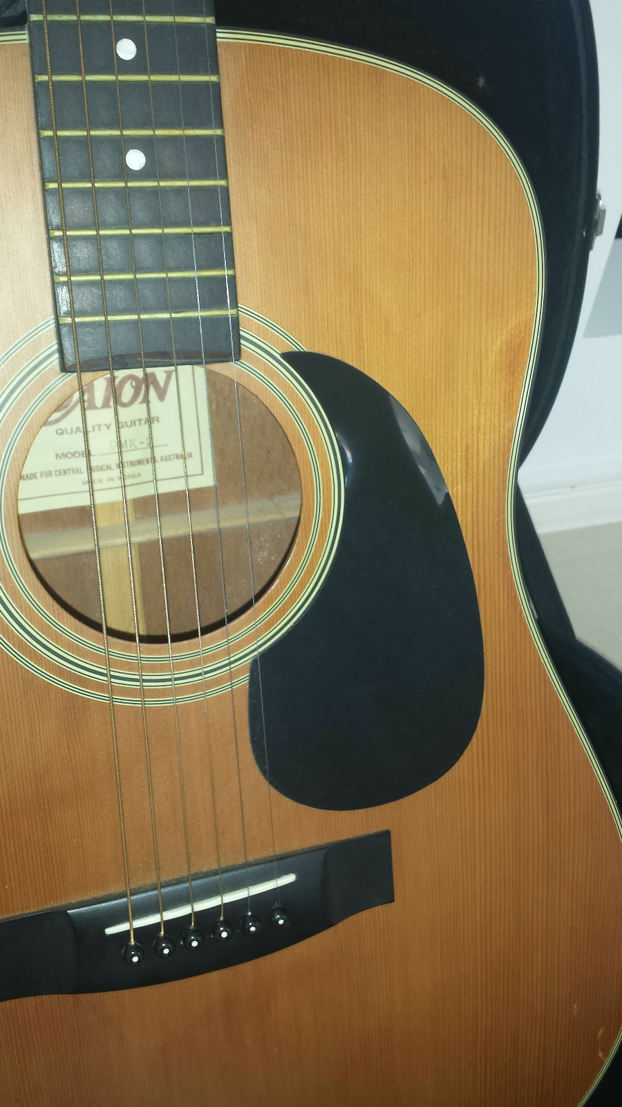daion guitars down under daion 6 string acoustic on. Black Bedroom Furniture Sets. Home Design Ideas