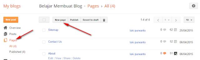cara membuat disclaimer di blogspot