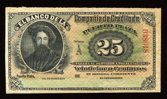 Dominican Republic 25 centavos