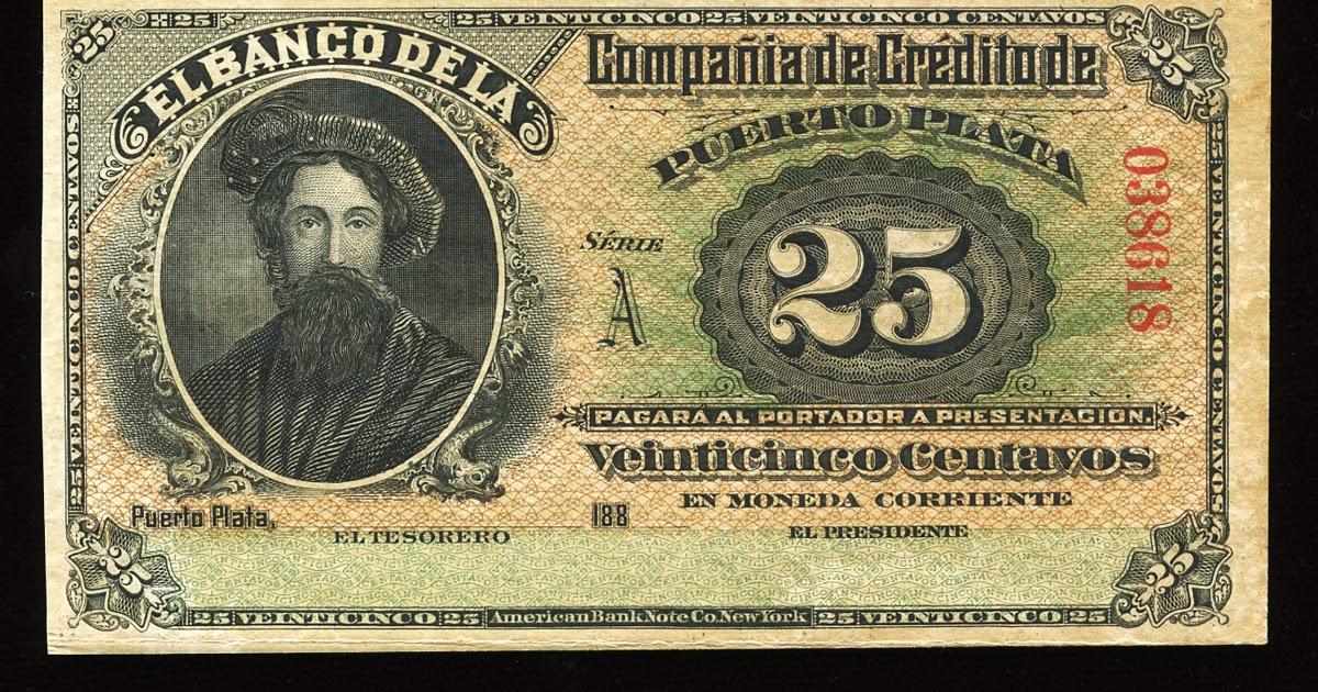 Dominican Republic 25 Centavos Banknote World Banknotes