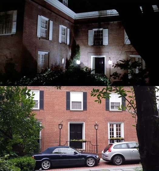 Location georgetown house exorcist exorcist house then and for Georgetown home