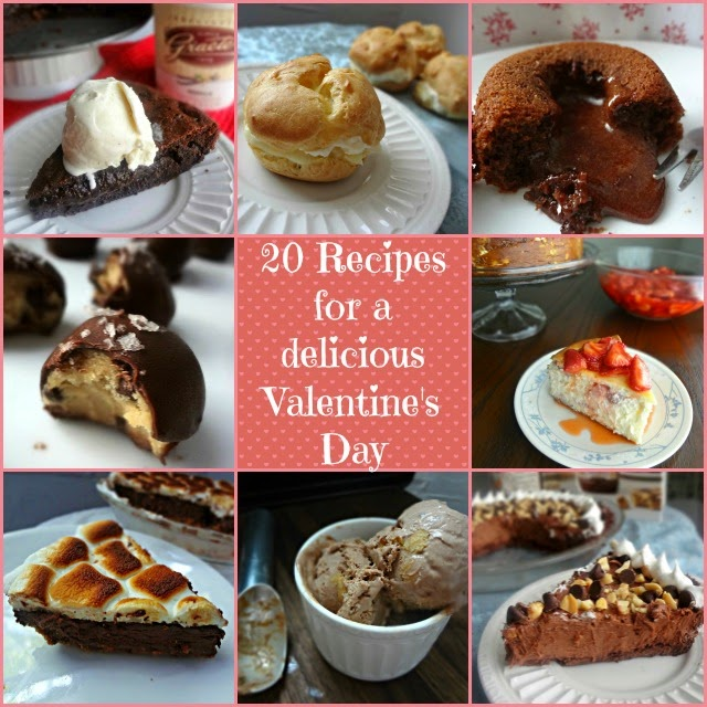 20 Recipes for a Delicious Valentine's Day