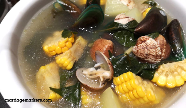 Mangan Restaurant Bacolod - Kapampangan cuisine - Bacolod restaurants - Bacolod blogger - family - daddy blogger - seashell soup