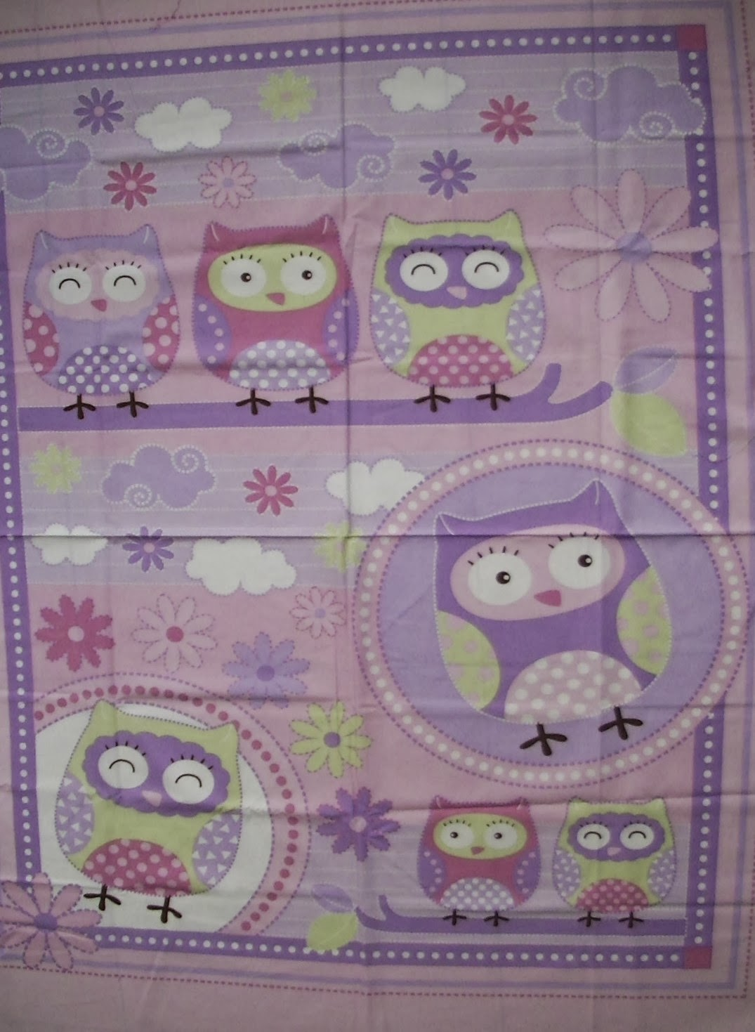 Handmade With Love By Ain Fabric Panel Selection For Baby