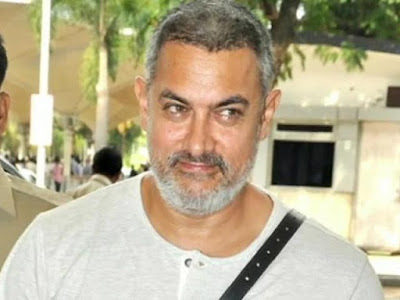 Bollywood Actor Aamir Khan new look for his upcoming movie