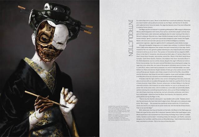 Nuevas imágenes de The Art of Ghost In The Shell