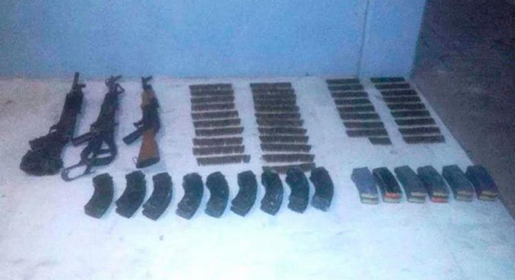Federales aseguran seis armas largas, tras una persecución con sicarios en Reynosa