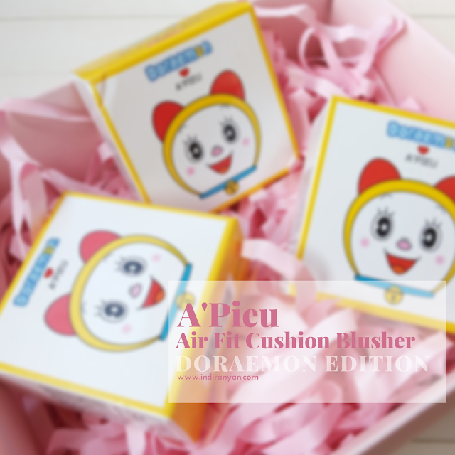 A'Pieu-Air-Fit-Cushion-Blusher, apieu-air-fit-cushion-blusher, apieu-air-fit-cushion-blusher-doraemon-edition