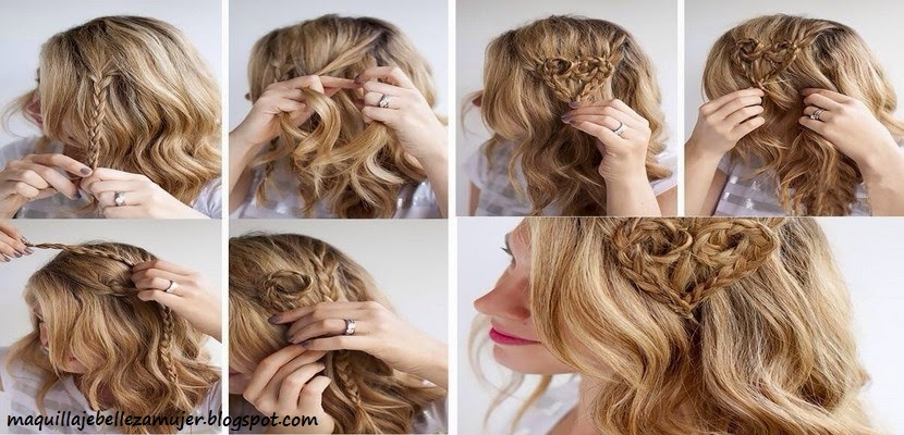 Como Hacer Peinados Con Trenzas Paso A Paso - 13 peinados fáciles con trenzas paso a paso Peinados Fáciles
