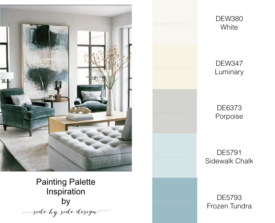 To Begin We Decided Come Up With An Overall Color Palette For The Home Make It Flow Nicely From Room And Work S Existing