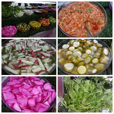 Hidangan Acar, Enak dan Sederhana Selera Khas warga Gaza Palestina.