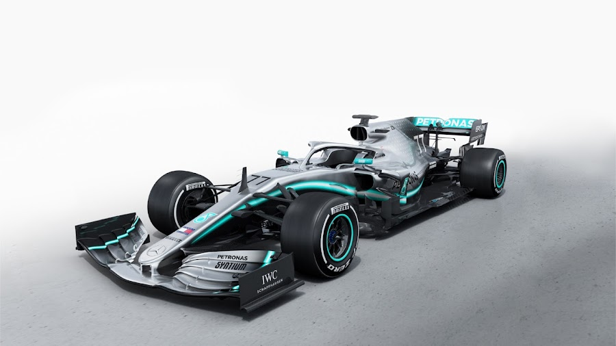 77 Mercedes AMG Petronas W10 F1 2019 Wallpaper