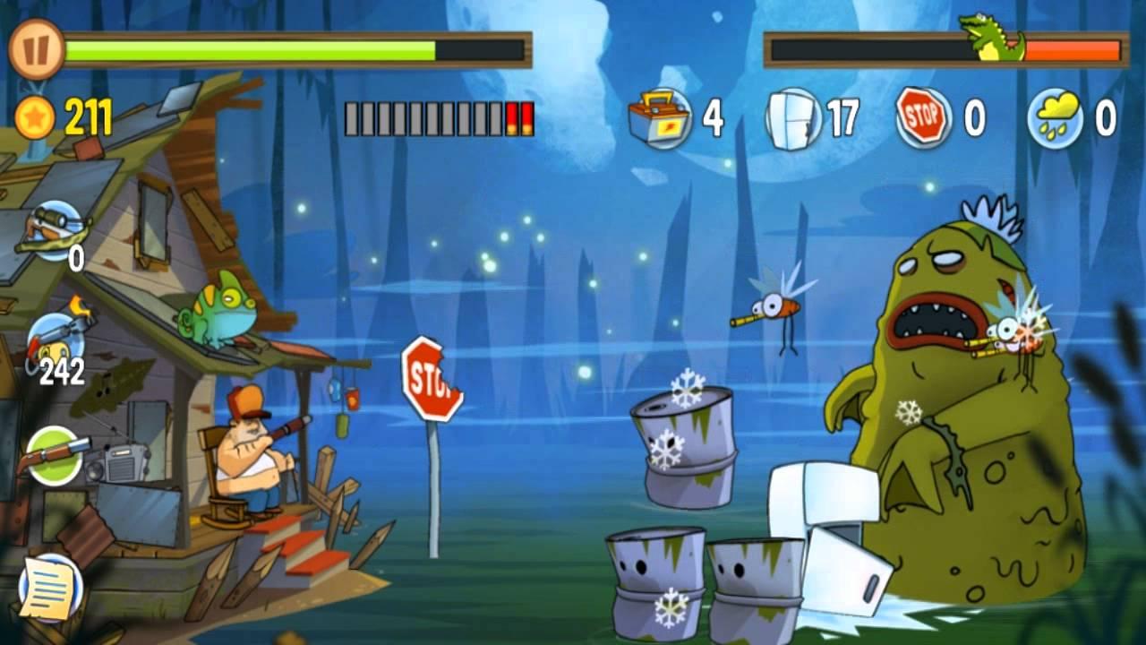 نتيجة بحث الصور عن تحميل لعبة Swamp Attack مهكرة للاندرويد