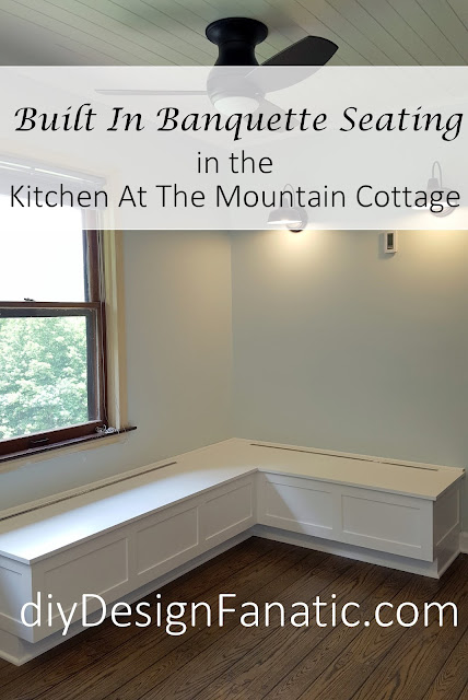Mountain cottage, mountain cottage bedroom, Mountain Cottage House Tour, Mountain Cottage Kitchen, Mountain Cottage Reno, diy, cottage style, farmhouse, farmhouse style, storage bed, small bathroom, build a wood shed, pantry storage, build a closet, make a wood countertop, open shelves, kitchen reno,