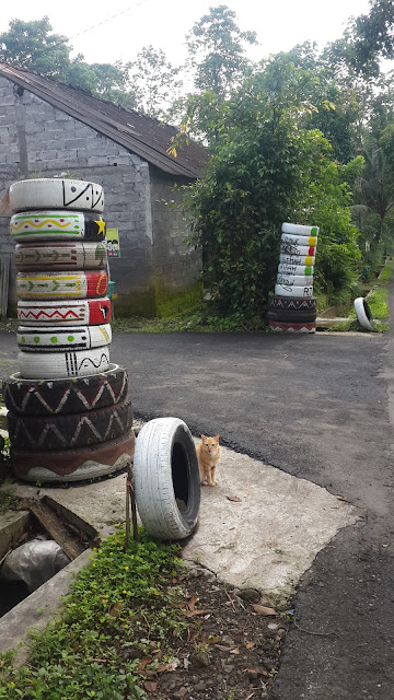 creative tires for decoration