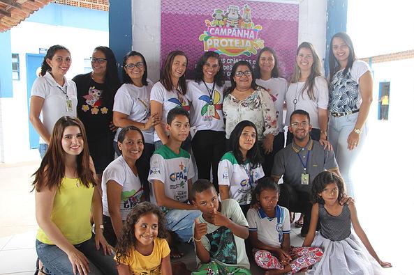 Ações da Campanha Proteja Brasil são iniciadas pelas escolas municipais de Delmiro Gouveia