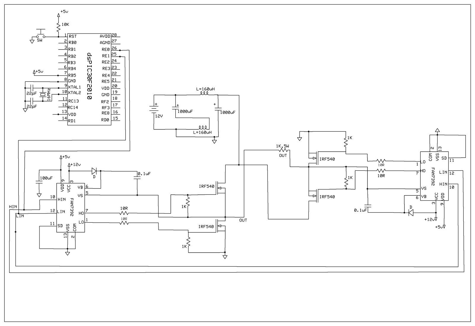 Inverter Circuit Diagram Using Cd4047