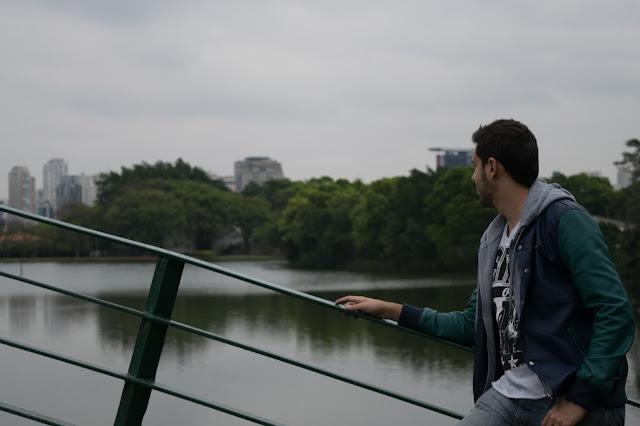 ponte e lago parque ibirapuera