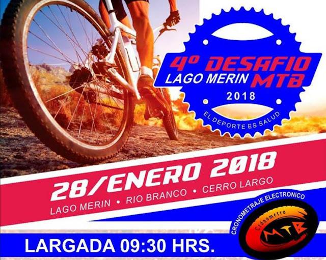 MTB - Desafío Lago Merín (Cerro Largo, 28/ene/2018)