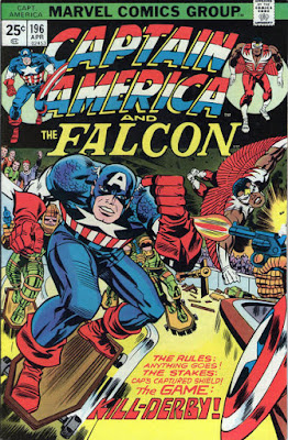 Captain America and the Falcon #196