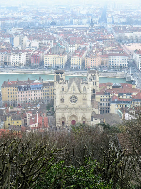 Things to do in Lyon France in 3 days: Check out the view over Lyon from the Basilica of Notre-Dame de Fourvière