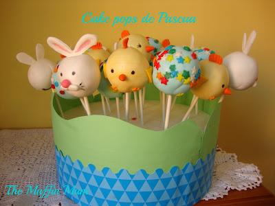 Cake pops de Pascua