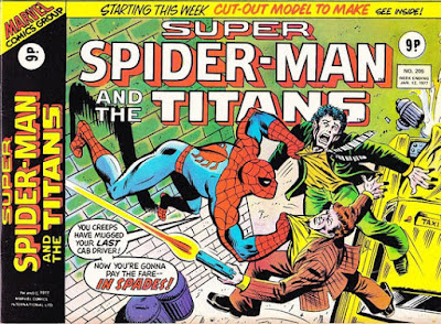 Super Spider-Man with the Super-Heroes #205