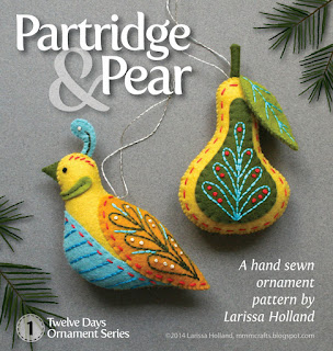 Partidge and Pear pattern