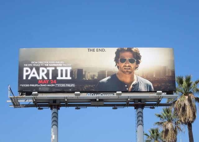 Hangover III Bradley Cooper billboard