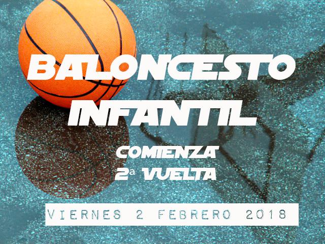 BALONCESTO INFANTIL: Inicio 2º Vuelta