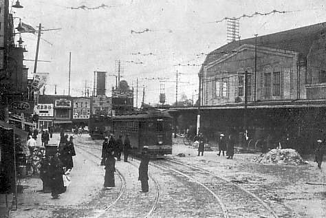 Pre-war Shibuya Station