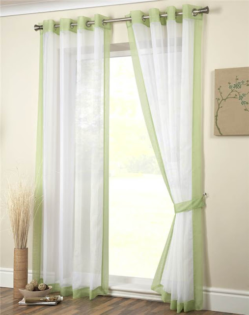 sinple bedroom curtains designs