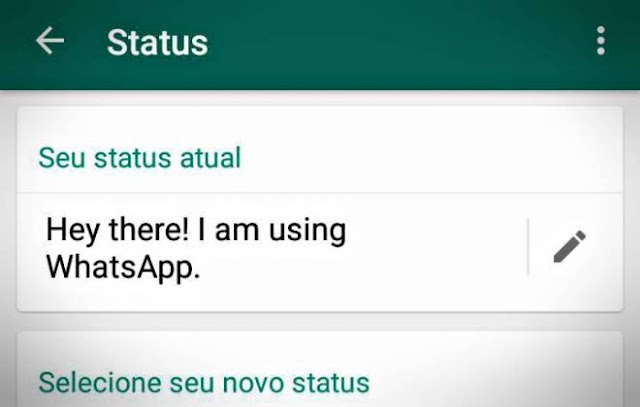 "O ""antigo status"" do Whatsapp está de volta"