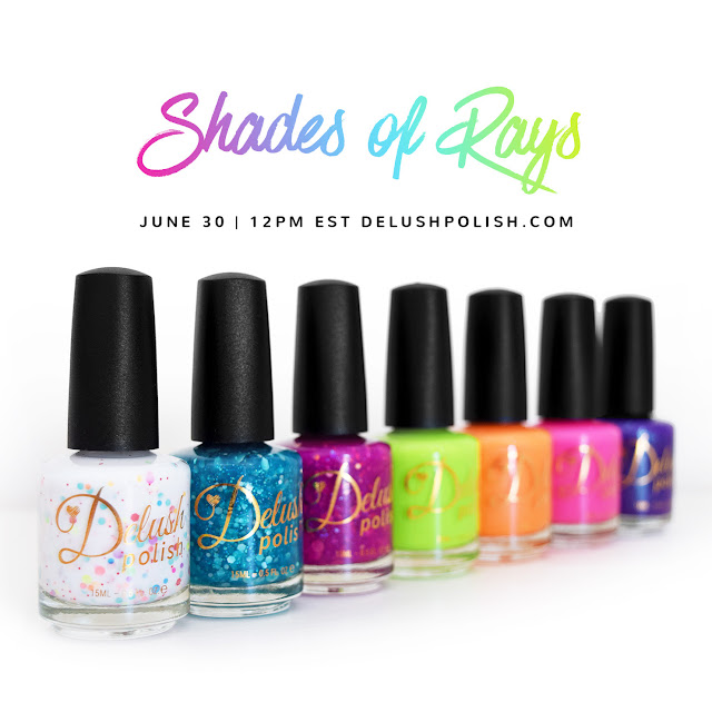 Delush Polish-Shades of Rays Collection