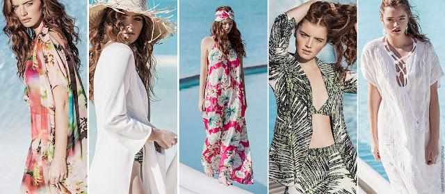 Moda primavera verano 2018: Looks de moda para mujer primavera verano 2018. Vestidos, trajes, túnicas, monos, blusas primavera verano 2018 | MODA 2018.