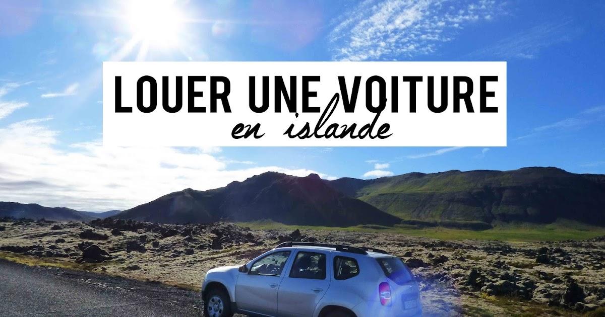 mes conseils pour louer une voiture en islande (en été) - my travel