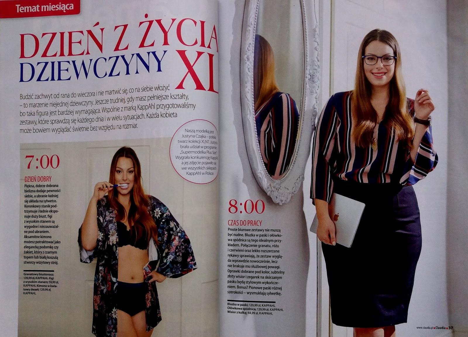 efbfca1a92 Agnieszka Kownacka o modzie i urodzie  Prasówka Plus Size - listopad ...