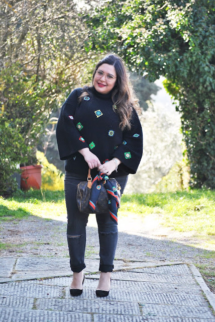 KENZO FOR H&M || Curvy || Plus size || Outfit