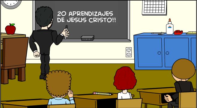 20 enseñanzas de Jesús cristo