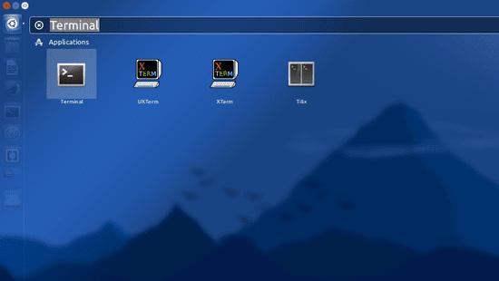 Buka Terminal Pada Ubuntu Dengan Mencari Melalui Dash Ubuntu