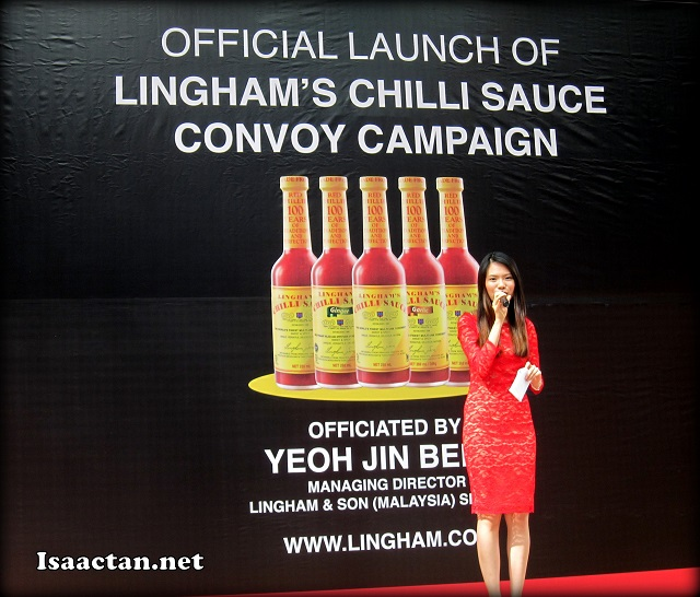 Official Launch of Lingham's Chilli Sauce Convoy Campaign