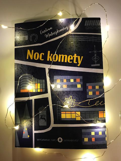 Ewelina Matuszkiewicz - Noc komety - ZAPOWIEDŹ