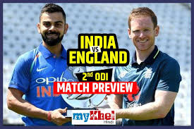Live Cricket Score, India vs England 2nd ODI match